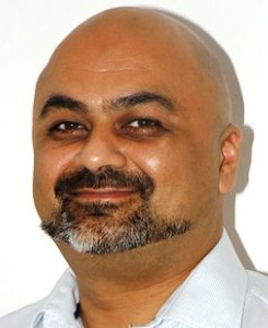 Nav Walia of Kidderminster Foot Clinic