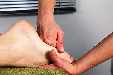 Treating foot pain