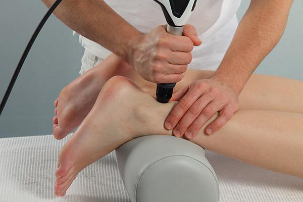 Shockwave therapy treatment of Achilles Tendonitis