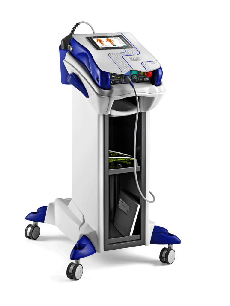 Laser treatment equipment at MyPod Foot Clinic