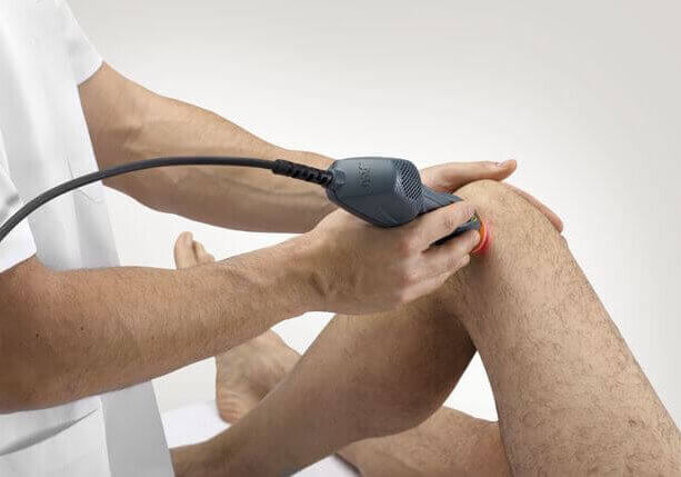 Therapeutic laser treatment at MyPod Foot Clinic